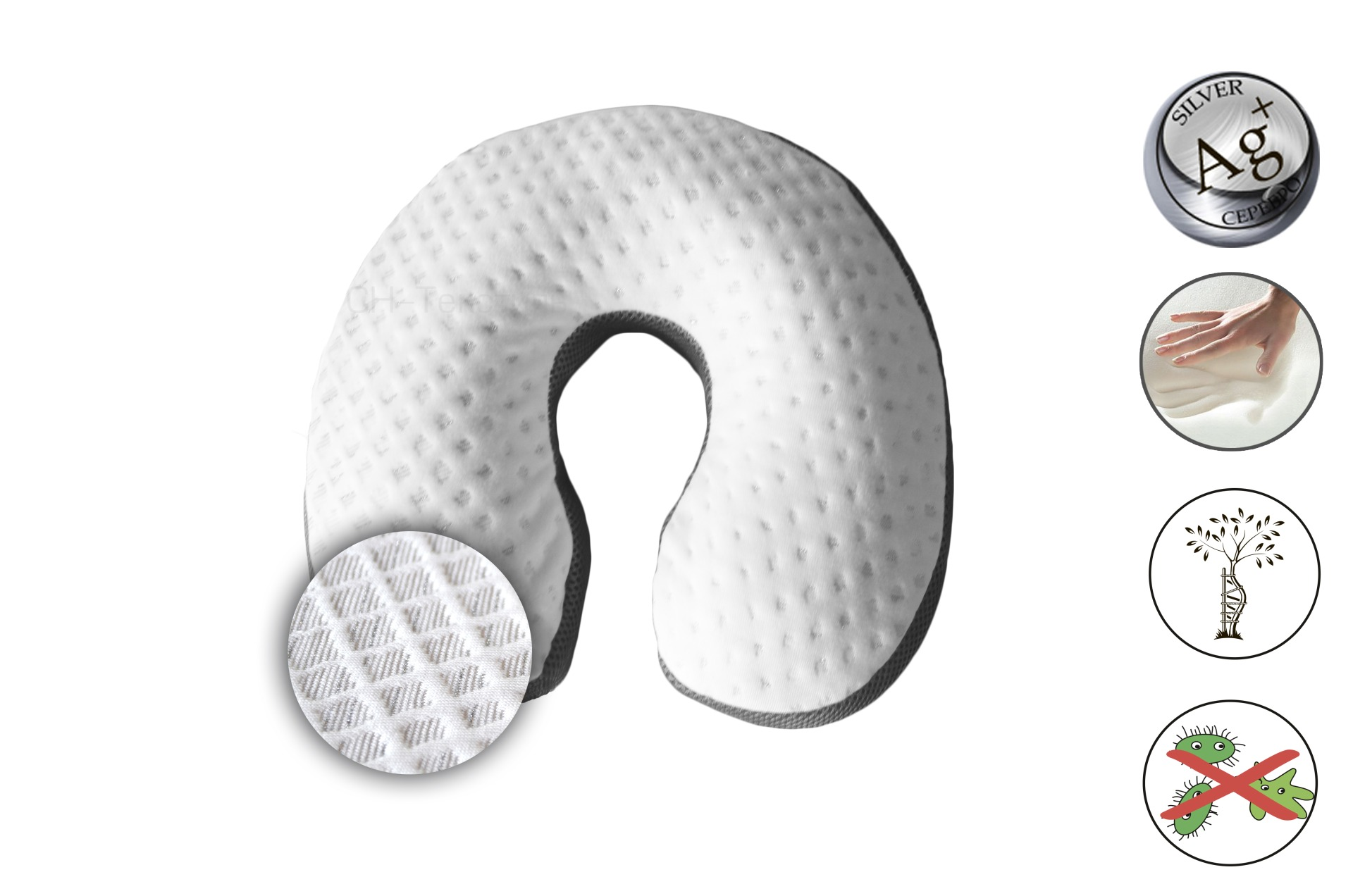 Ортопедические подушки с эффектом памяти как выбрать
