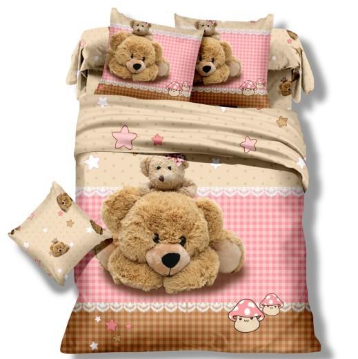 детское постельное белье сатин 3д