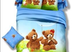 Детское постельное белье из сатина 3D