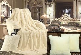 Интерьер спальни в белом цвете